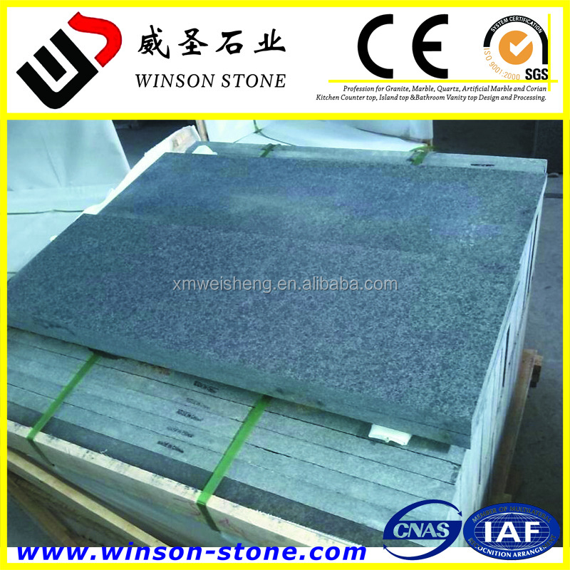 G684 flamed surface chinese granite color