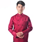 factory direct price Unisex Oilproof Custom Design chef wear Coat and pants uniform clothes for hotel restaurant bar