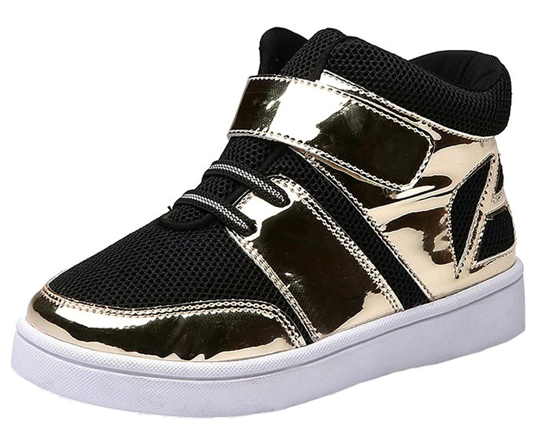 Pointss Boys Girls Sport Shoe High Top Skate Shoe Ankle Boot Mesh Running Walking Shoe Fashion Sneaker Travel Shoe