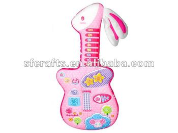 Baby Soft Book Guitar Good Baby Soft Book Guitar Hot Sell Baby Soft