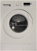 6/7/8 KG white color front loading washing machine