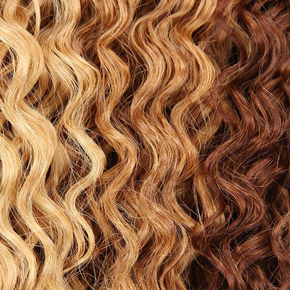 Brazilian Braiding Hairocean Water Wave Synthetic Hair Extensions