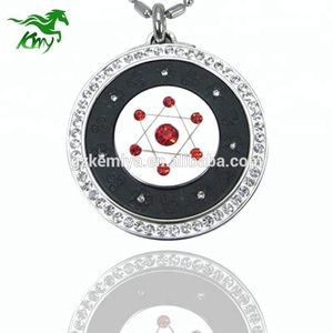 Japan 314 stainless steel 7star quantum science scalar energy pendant