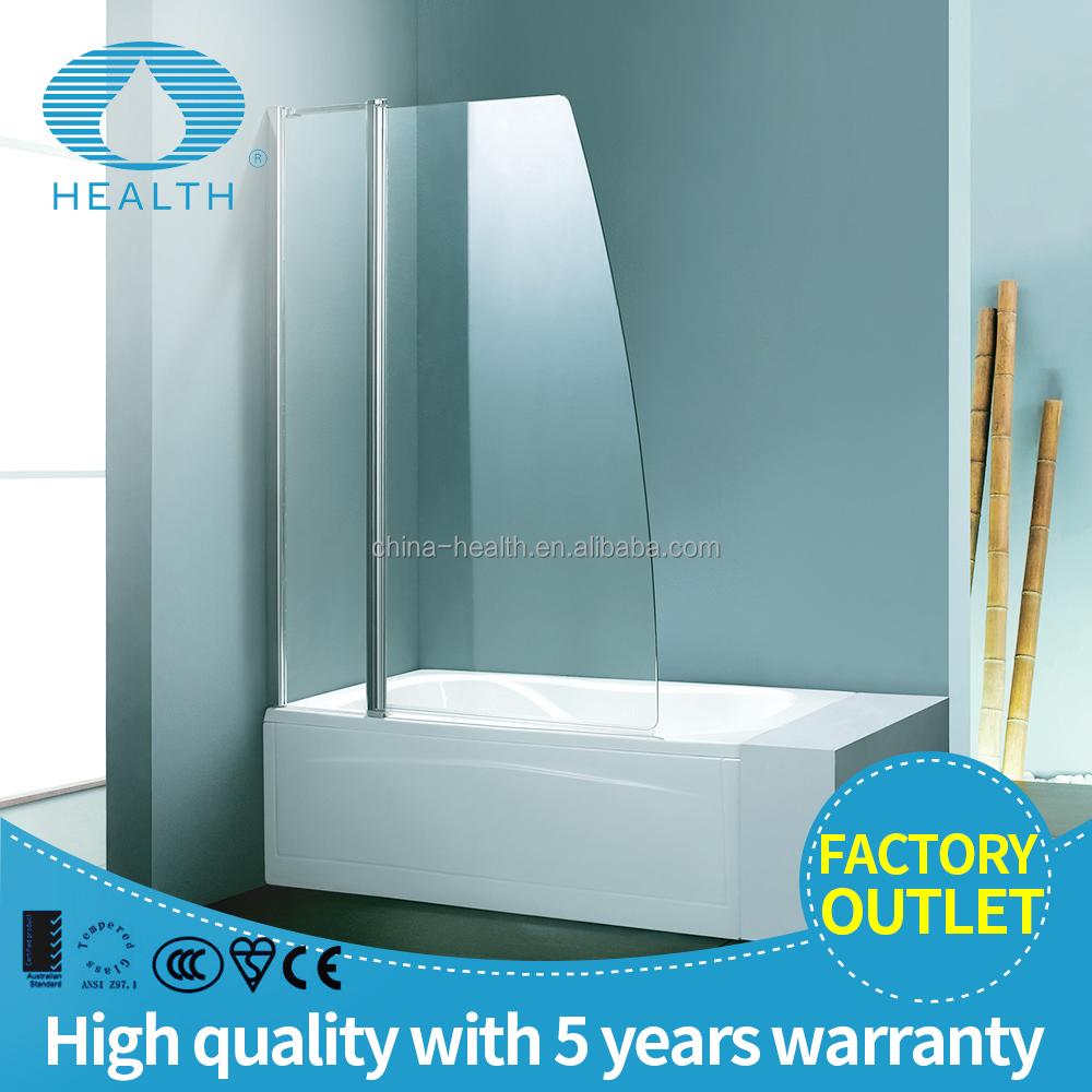 Captivating 6mm Glass Bathtub Screen Hinge With Handle Shower Door   Buy Bathtub Screen,Bathtub  Screen With Handle,Bathtub Shower Screen Product On Alibaba.com