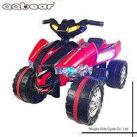 Electric Childrens Quad Bikes Ride On ATV Quad 4 Wheeler for Sale , 6V Battery