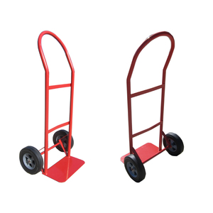 Convenient security 2 wheels metal moving hand truck hand push cart for sale
