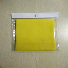 Needle punched nonwoven super absorbent household cleaning cloth