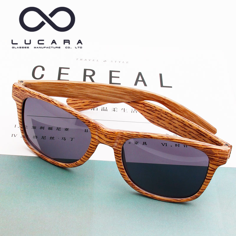 High Quality FDA Wholesale Mirror Lens China Wood Bamboo Sunglasses 2017 Custom Logo Polarized 2017 Wooden