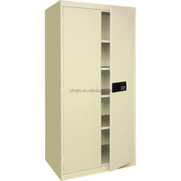 China Factory Price Glass Sliding Door Storage Filing Cabinet Lock Safe Cabinet with Electronic Lock