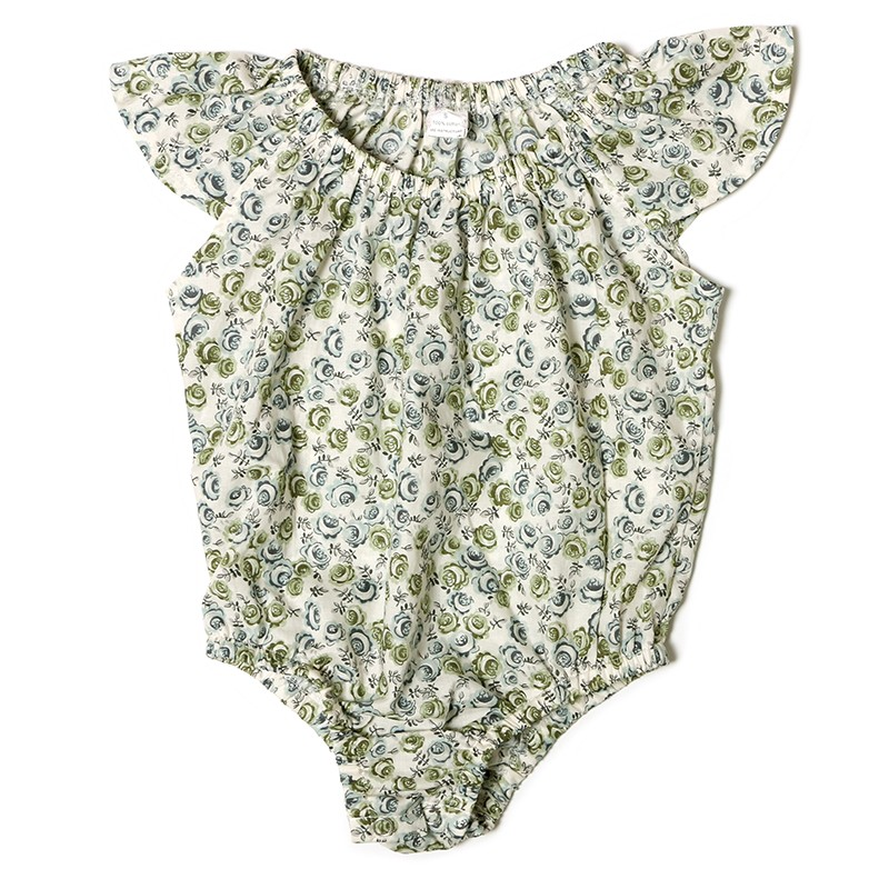 Fancy girl clothing newborn baby clothes romper baby custom baby onesie