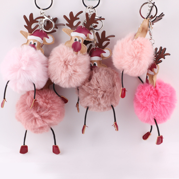 Christmas deer keychain maker where to get keychains made key holder
