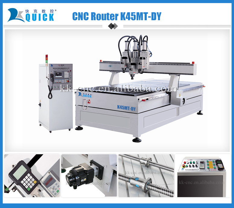 cnc 4 axis router K45MT-DY