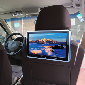 Car mp5 display rear row entertainment system hdmi 10.1 inch car headrest dvd monitor