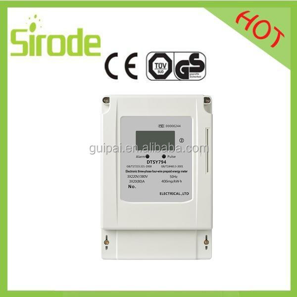 Electricall Three Phase Split Prepayment Meter