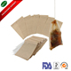 Wholesale empty coffee tea filter paper drawstring filter bag