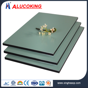 3mm,4mm PVDF coating aluminum composite panel for outside Building,Alucoking PVDF acp exterior wall cladding material