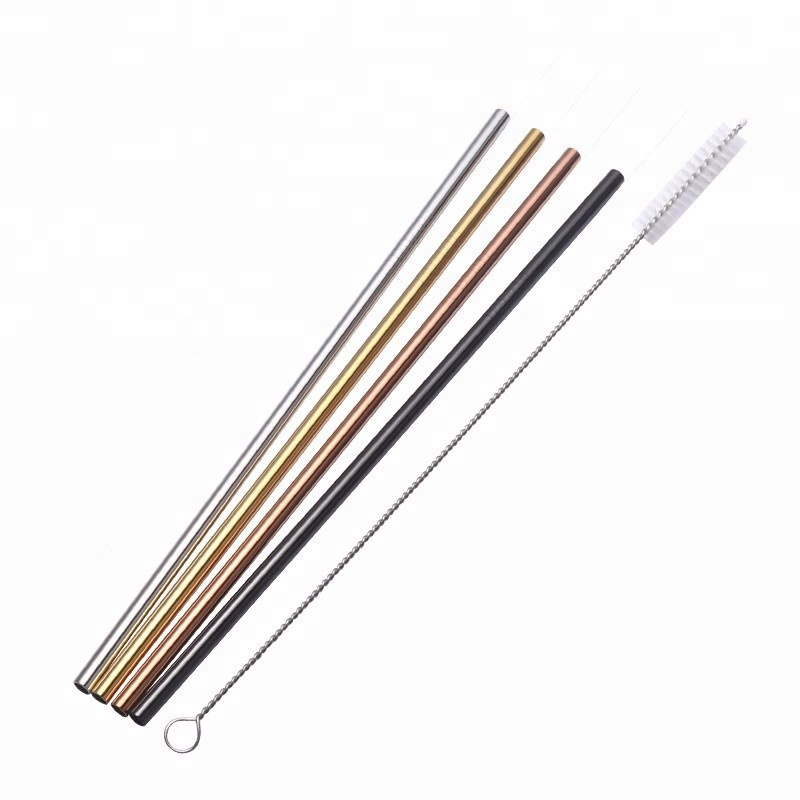 milkshake/soft Drink/cocktails *clear Thick Smoothie Straws 200mm X 9mm qty 200