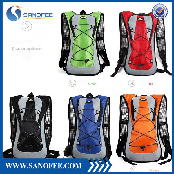New design sport water back pack hydration bag