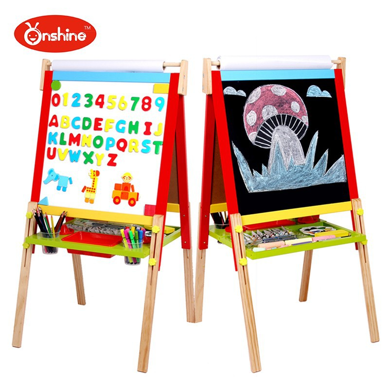 giocattoli per bambini nuovo stile tavolo da disegno in legno per ... - Tavolo Da Disegno Per Bambini