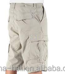 Men's 3/4 Length Cargo Shorts - Buy Extra Long Shorts Men,Men ...