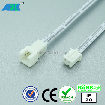 Led Wires/cables Jst 2 Pole Male To Female Electric Connector For ...