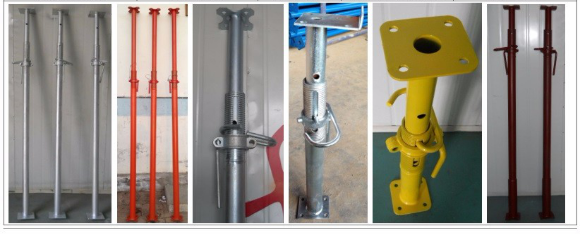 For Adjustable Steel Post Shore Sale Galvanized  And Painted Steel Props Adjustable Telescopic Steel Prop