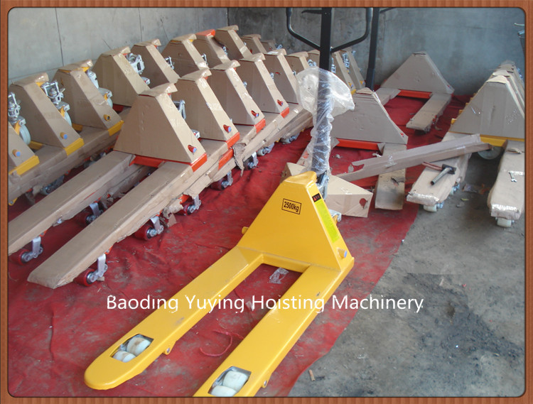 Hydraulic manual CBY type 2 ton hand pallet truck