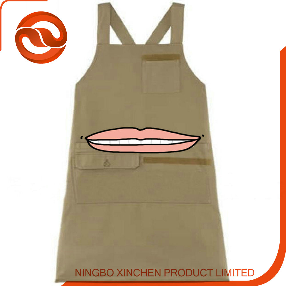 Wholesale Comfortable kids apron DIY cotton child apron