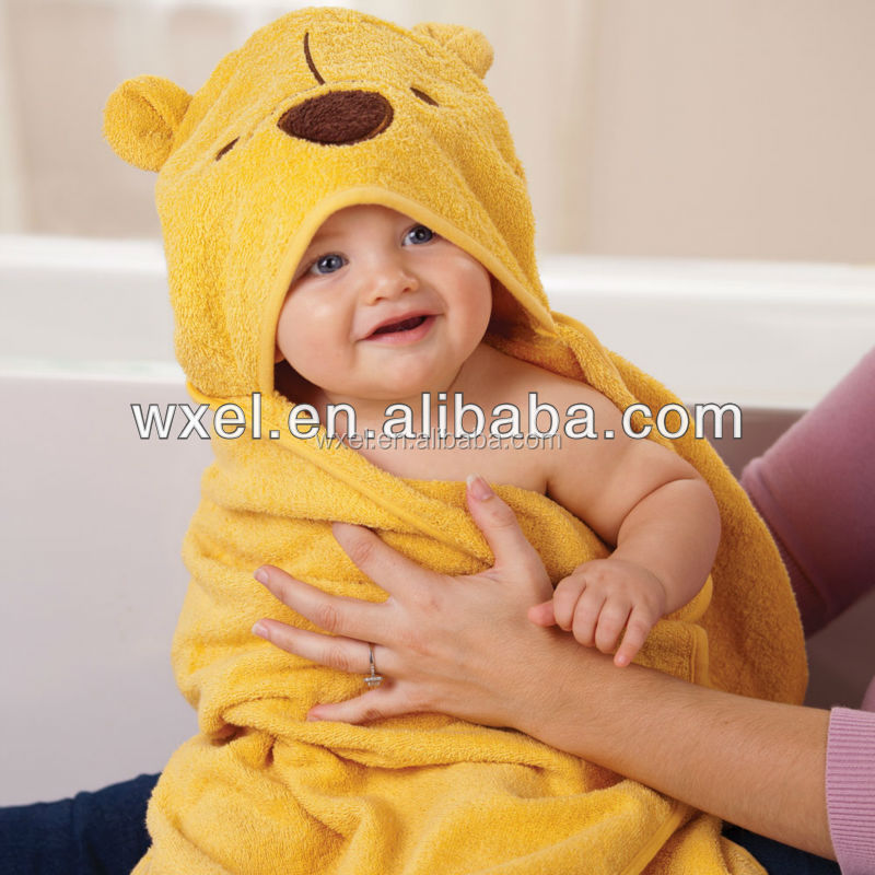 Hot sell towelling beach robe for children