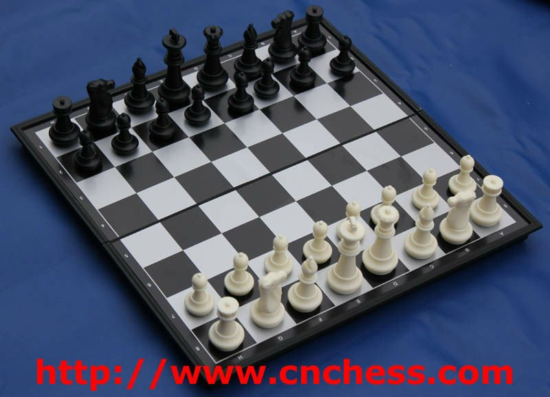 magnet chess game set with box
