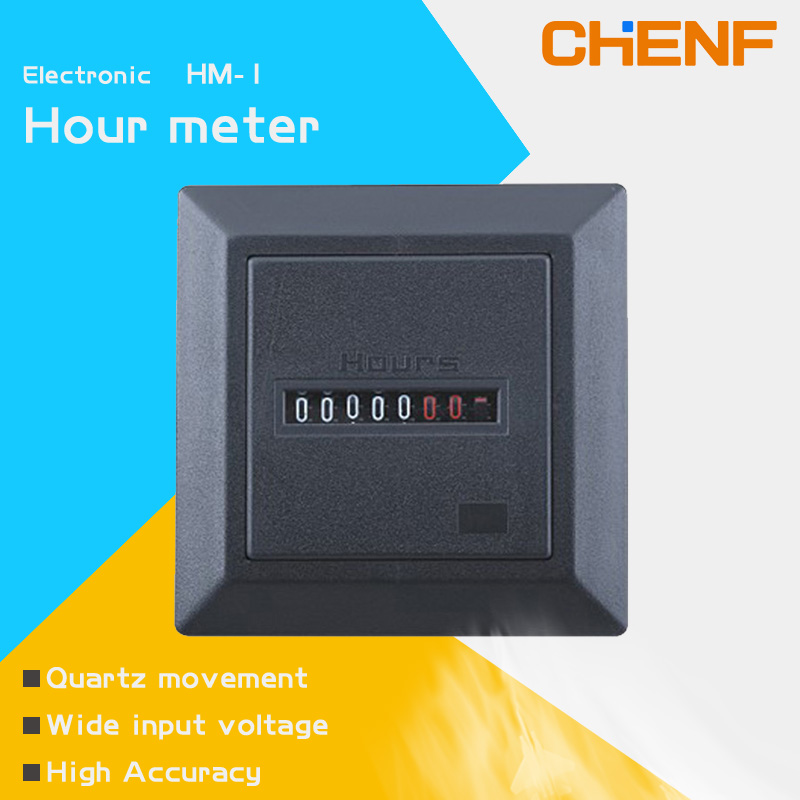 CHENF Wholesale Promotional Products China Hm-1 Hour Meter AC/DC PULSE hour counter meter