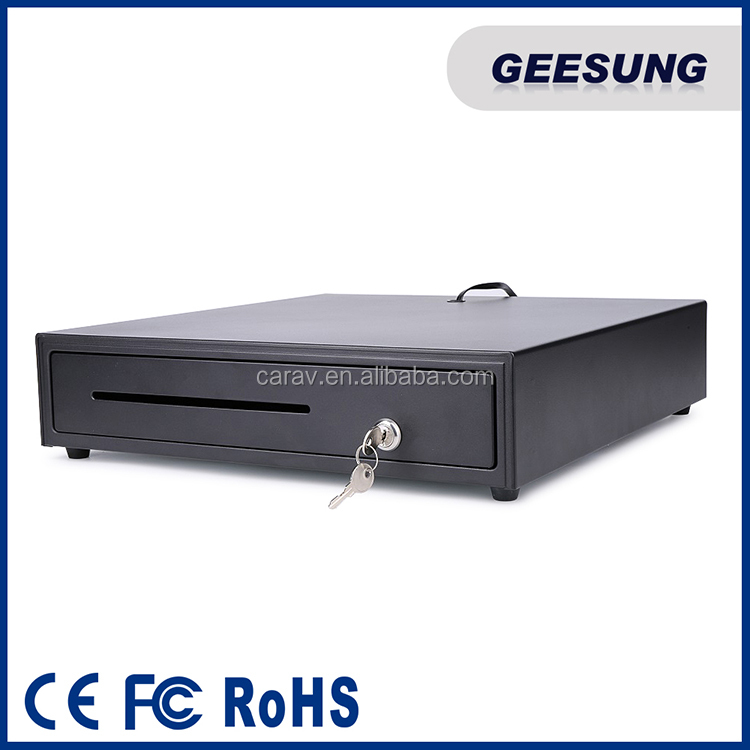 Manufacturer POS Till cash drawer 8 Coins cashbox with USB connector