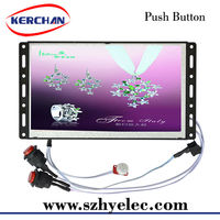 Open frame battery operated pump gas signage advertising players
