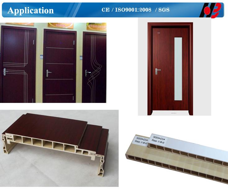 pvc doors windows fabrication machines/PVC door frame profile making ...