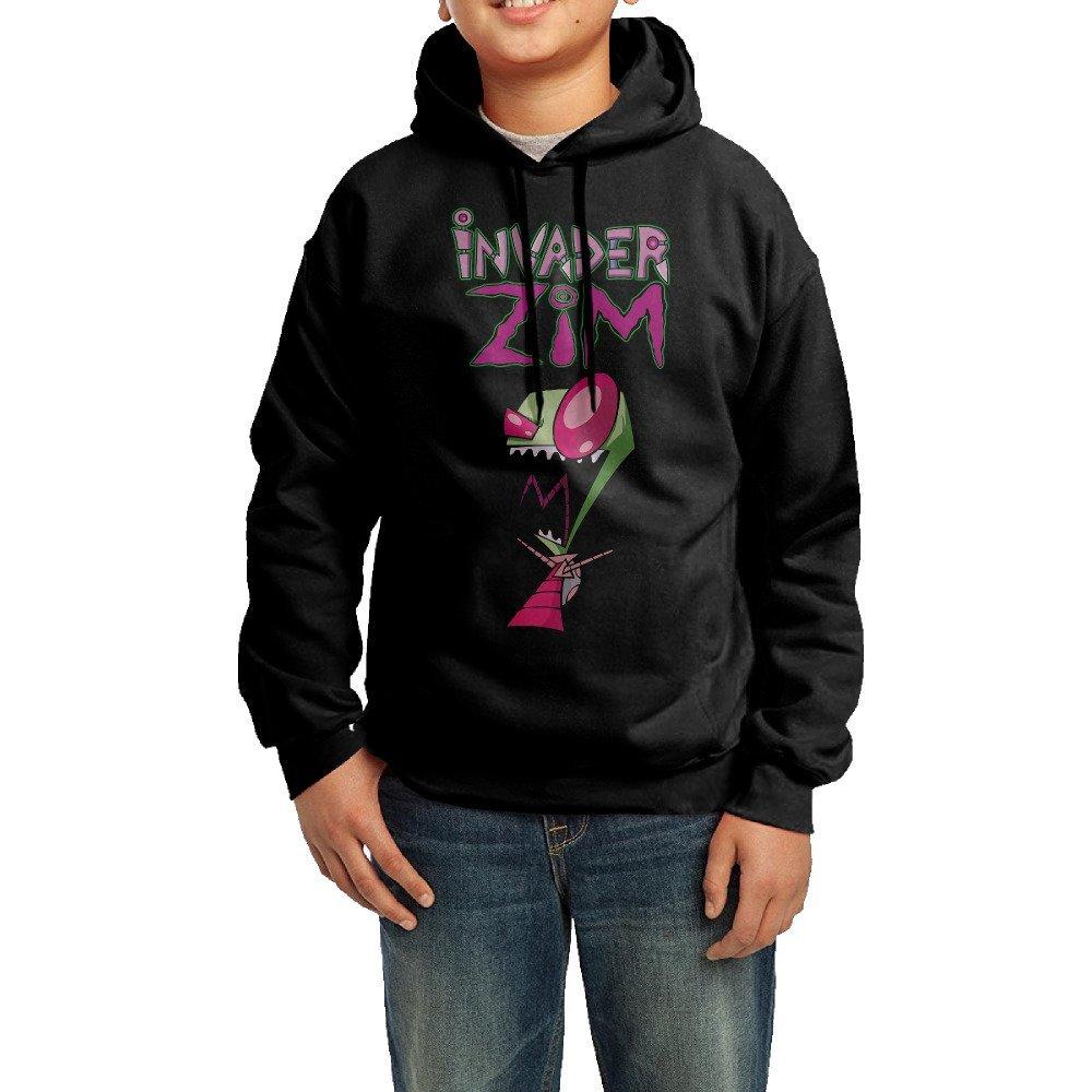 Lanpan New Unisex Kids Boys Girls Zip Hoodie Hoodies Sweatshirt Fleece Jumper Top