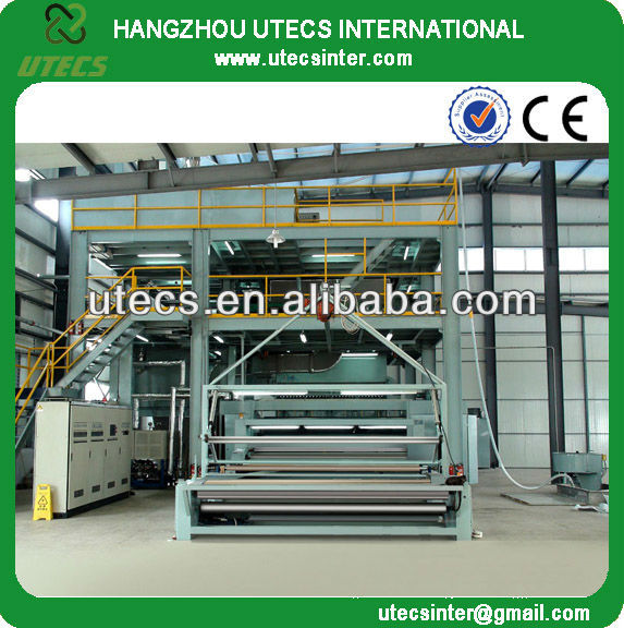 UPP2400 Automatic Spunbond polypropylene pp Non woven Making Machine