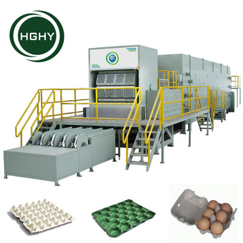 HGHY Asia Pulp Paper Products Molding Machine