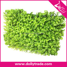 Hot Sale Plastic Artificial Money Tree Leaves Lawn Grass For Garden Decor