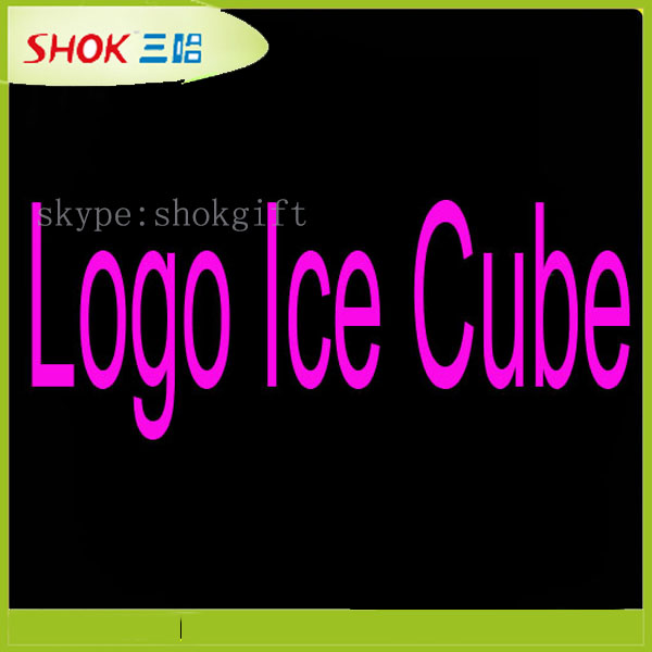 Night Club & Event & Party Decorations logo ice cubes