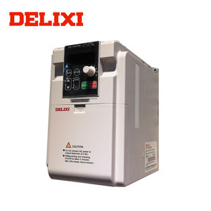 DELIXI Inverters & Converters EM60 0.4-2.2KW 220v 7.5kw rotary frequency converter