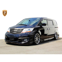 Hot sale body kit for honda elysion 2008-2012 to sixsen style in frp