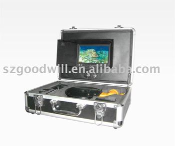 Underwater monitor system fish finder buy remote for Battery powered fish finder