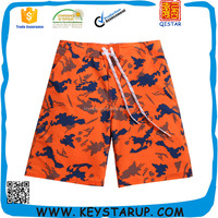 Fitted Man Sport Beachwear 4 Way Stretch Quick Dry Swimwear in Ready made
