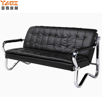 cheap metal frame office sofa furniture leather office sofa (YA-343), View  office sofa furniture, YAQI Product Details from Foshan Yaqi Furniture Co.,  ...