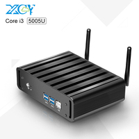 wholesale Mini Computer Core I3 5005U 2.0GHz Windows7 Dual Core gaming pc computer MPCIE WIF 4G Ram 240G SSD Office USing 6*USB
