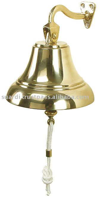 Art. 2039 Polished Brass Ship's Bell