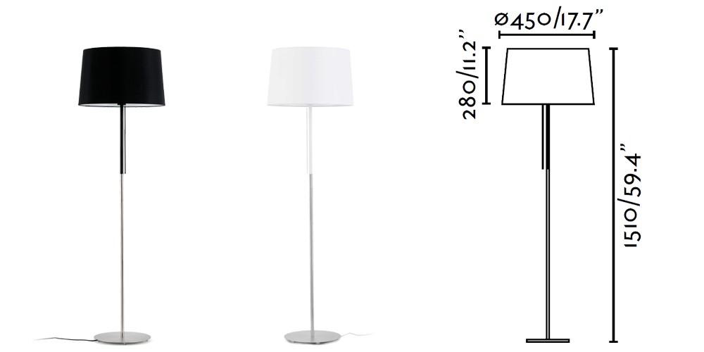 Italian Style Indoor Home Decoration Led Arc Floor Lamp