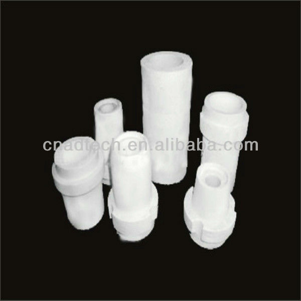 Rectangular&round&irregular shaped aluminum billet casting thimble for cast table through