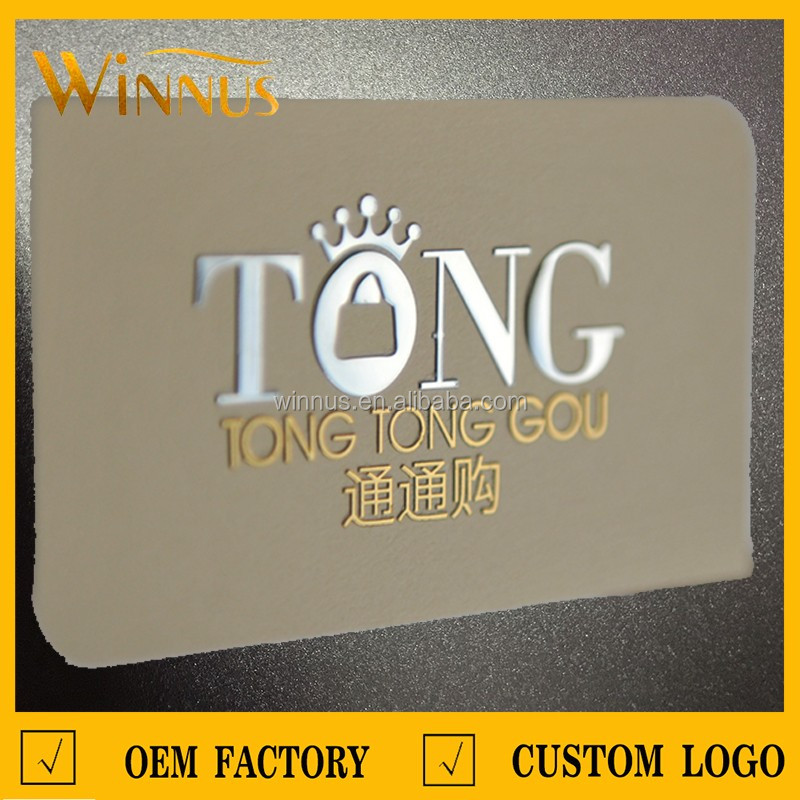 Custom paper hot stamping gold embossed 3d raised print business custom paper hot stamping gold embossed 3d raised print business cards reheart Image collections