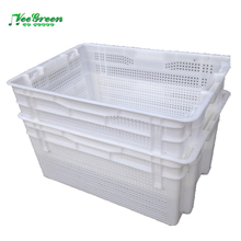 Stackable Ventilated Moving Plastic Agriculture Crate